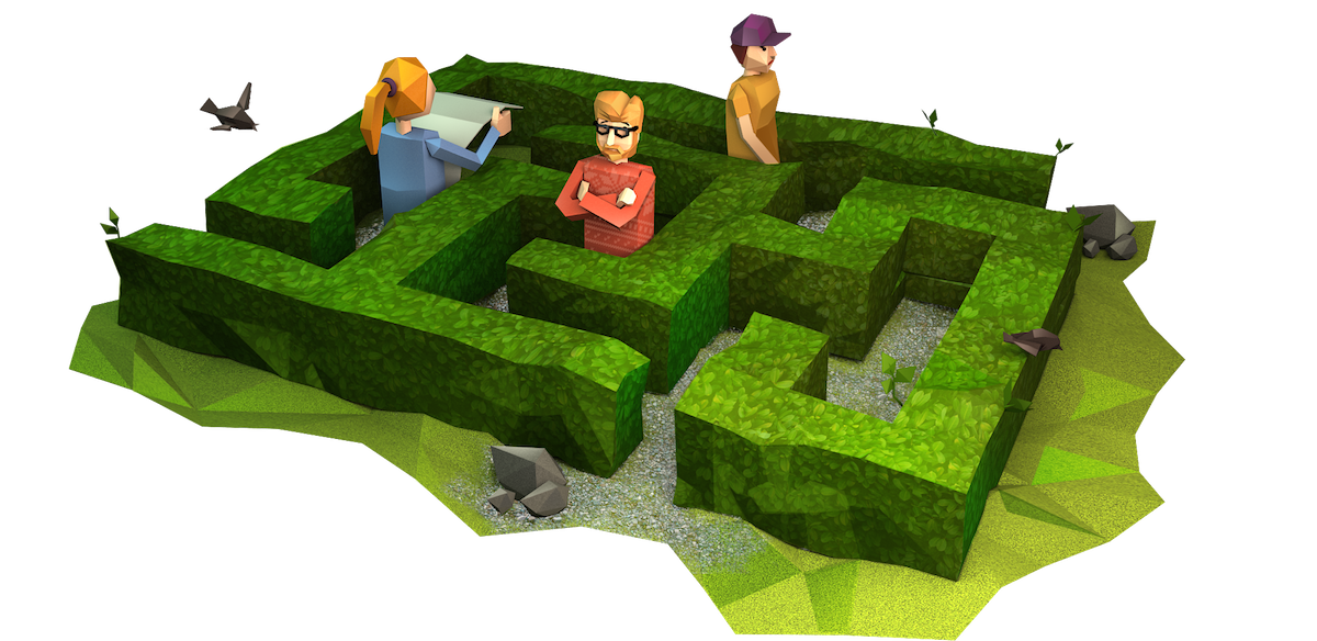 bush-maze