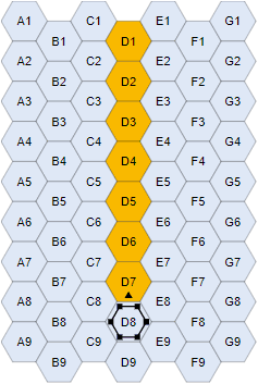 firing-arc(0 degree)