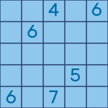 5x5 example input